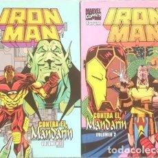 Cómics: IRON MAN CONTRA EL MANDARIN (COMPLETA 2 TOMOS) - FORUM. Lote 248943435
