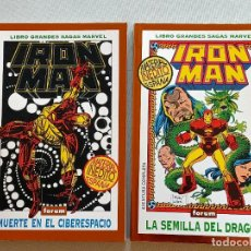 Cómics: IRON MAN GRANDES SAGAS MARVEL FORUM. Lote 248945435
