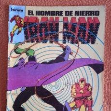 Cómics: EL HOMBRE DE HIERRO IRON MAN 5 VOL 1 FORUM. Lote 249015080