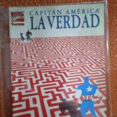 Cómics: CAPITÁN AMÉRICA LA VERDAD FORUM. Lote 249052940