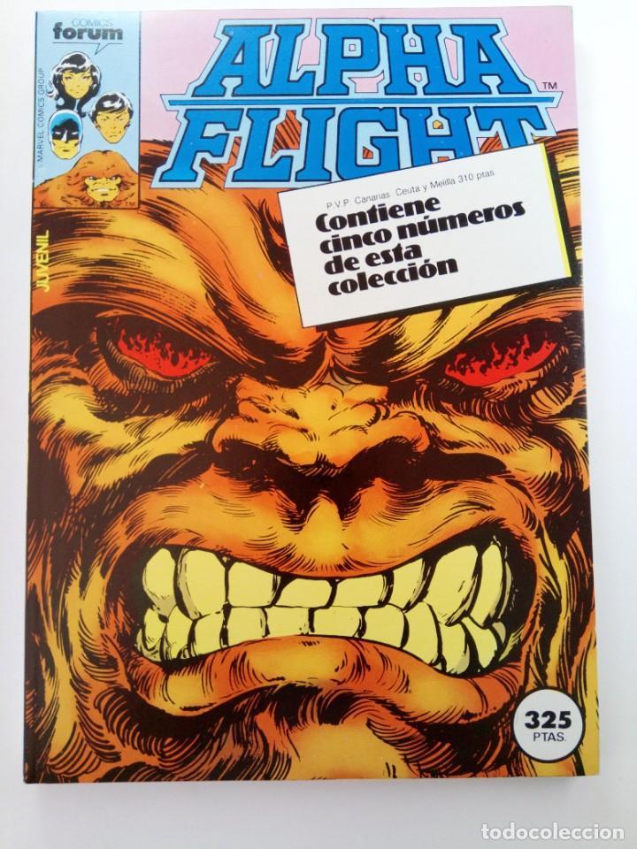 ALPHA FLIGHT - RETAPADO, CONTIENE CINCO NÚMEROS DEL 6 AL 10 - FORUM (SIN USAR) (Tebeos y Comics - Forum - Alpha Flight)