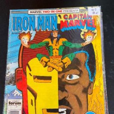 Cómics: FORUM IRON MAN & CAPITAN MARVEL NUMERO 42 NORMAL ESTADO. Lote 249180210