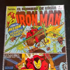 Cómics: FORUM IRON MAN NUMERO 9 NORMAL ESTADO. Lote 249180320