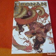 Cómics: CONAN LA LEYENDA Nº 31 ( MIKE MIGNOLA CARY NORD ) ¡BUEN ESTADO! FORUM DARK HORSE. Lote 249505910