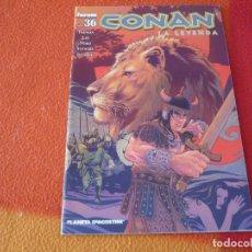 Cómics: CONAN LA LEYENDA Nº 36 ( TIMOTHY TRUMAN LEE NORD STEWART ) FORUM DARK HORSE. Lote 249508090