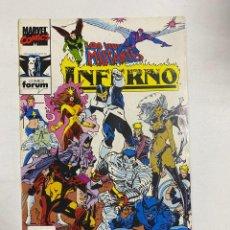 Comics : LOS NUEVOS MUTANTES - INFERNO. Nº 20 - CENIZAS A LAS CENIZAS. MARVEL COMICS. COMICS FORUM. Lote 249516660