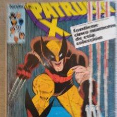 Cómics: PATRULLA X. RETAPADO. Nº 57 AL 61. FORUM. Lote 250134775