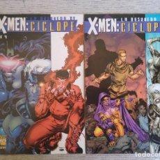 Cómics: X-MEN. LA BÚSQUEDA DE CÍCLOPE. Nº 1 AL 4. COMPLETA. FORUM. Lote 250158705