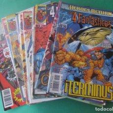 Cómics: LOS 4 FANTASTICOS LOTE DE 21 NUMEROS COMICS FORUM. Lote 251151780
