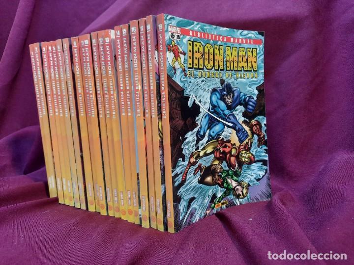 BIBLIOTECA MARVEL IRON MAN PANINI COMICS 19 TOMOS (Tebeos y Comics - Forum - Iron Man)
