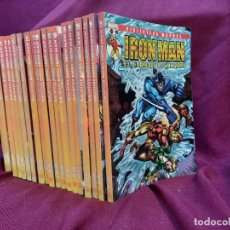 Cómics: BIBLIOTECA MARVEL IRON MAN PANINI COMICS 19 TOMOS. Lote 251359935