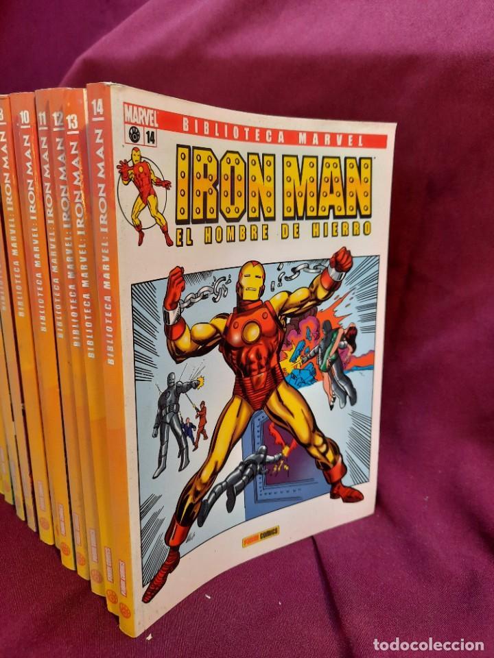 Cómics: BIBLIOTECA MARVEL IRON MAN PANINI COMICS 19 TOMOS - Foto 5 - 251359935