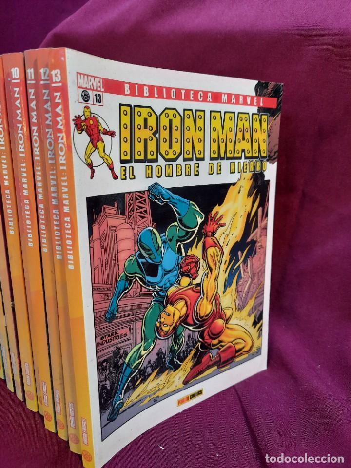 Cómics: BIBLIOTECA MARVEL IRON MAN PANINI COMICS 19 TOMOS - Foto 6 - 251359935