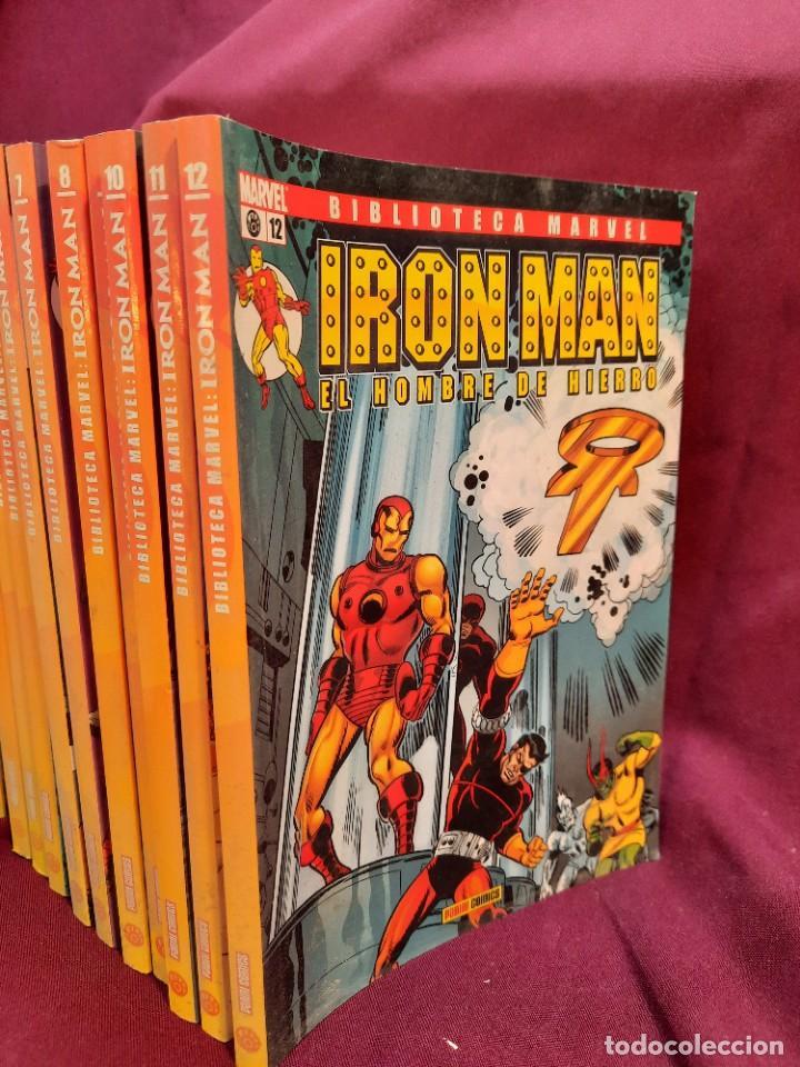 Cómics: BIBLIOTECA MARVEL IRON MAN PANINI COMICS 19 TOMOS - Foto 7 - 251359935