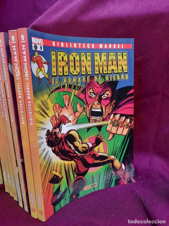 Cómics: BIBLIOTECA MARVEL IRON MAN PANINI COMICS 19 TOMOS - Foto 9 - 251359935