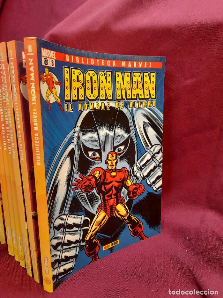 Cómics: BIBLIOTECA MARVEL IRON MAN PANINI COMICS 19 TOMOS - Foto 10 - 251359935