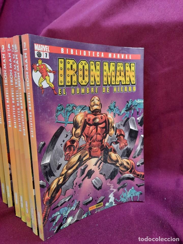 Cómics: BIBLIOTECA MARVEL IRON MAN PANINI COMICS 19 TOMOS - Foto 11 - 251359935
