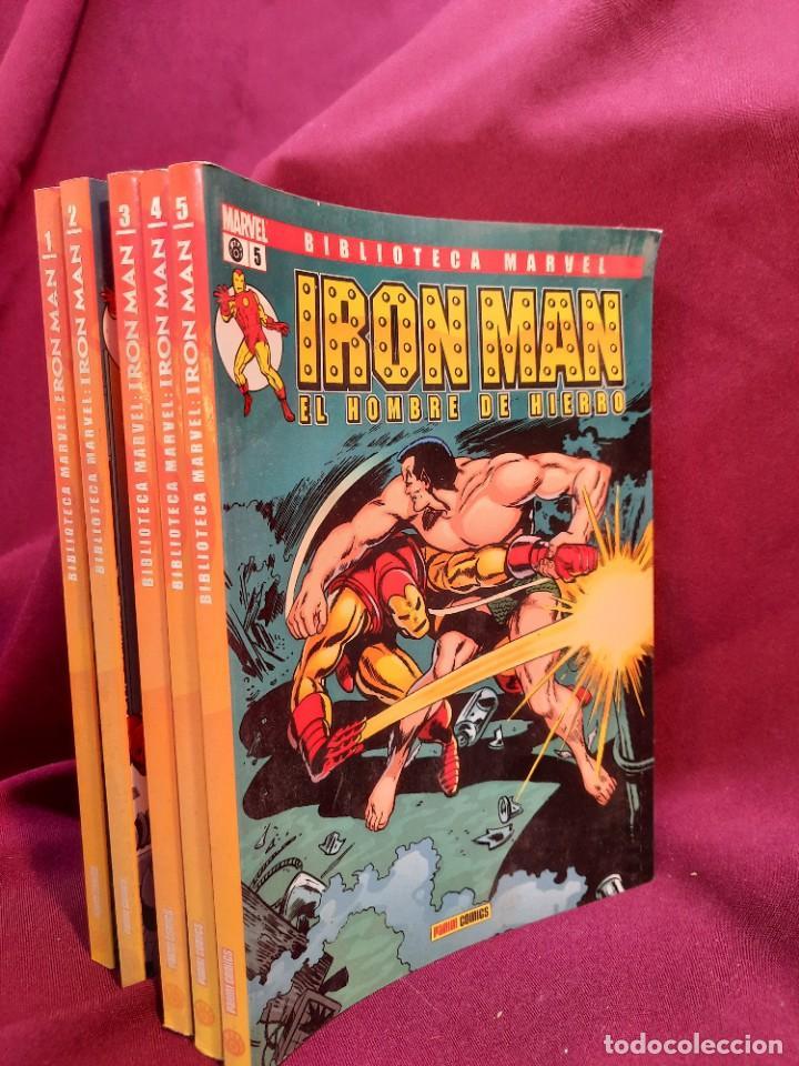 Cómics: BIBLIOTECA MARVEL IRON MAN PANINI COMICS 19 TOMOS - Foto 13 - 251359935