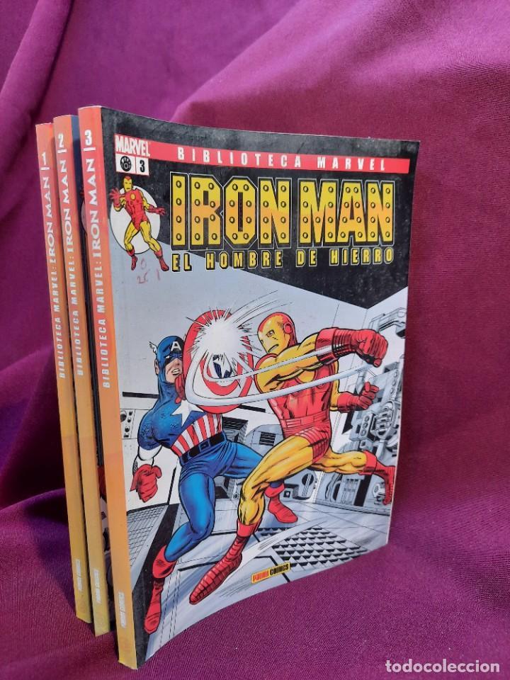 Cómics: BIBLIOTECA MARVEL IRON MAN PANINI COMICS 19 TOMOS - Foto 14 - 251359935