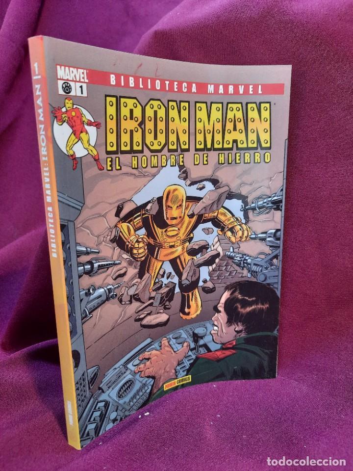 Cómics: BIBLIOTECA MARVEL IRON MAN PANINI COMICS 19 TOMOS - Foto 16 - 251359935