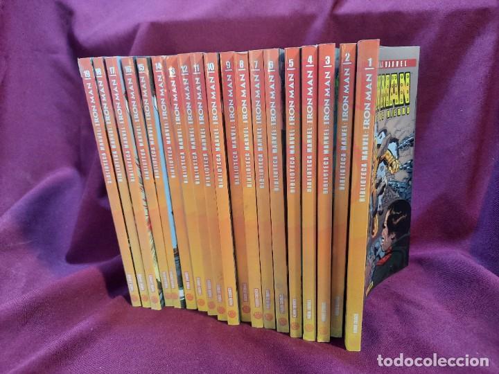Cómics: BIBLIOTECA MARVEL IRON MAN PANINI COMICS 19 TOMOS - Foto 17 - 251359935