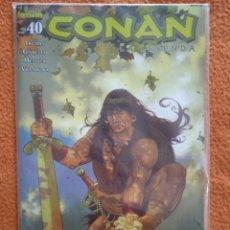 Comics : CONAN LA LEYENDA 40-NUEVO-MUY DIFICIL. Lote 251386780