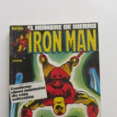 Cómics: IRON MAN VOL.1 Nº 31-32-33-34-35 RETAPADO FORUM MUCHOS EN VENTA MIRA TUS FALTAS E5. Lote 251545930