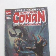 Fumetti: EXTRA CONAN EL BARBARO Nº 6 KING-SIZE ANNUAL - FORUM ARX80. Lote 251629390