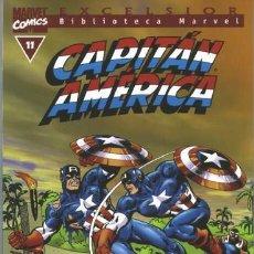 Cómics: BIBLIOTECA MARVEL CAPITAN AMERICA 11. Lote 251743650