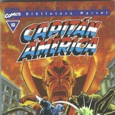 Cómics: BIBLIOTECA MARVEL CAPITAN AMERICA 12. Lote 251743665