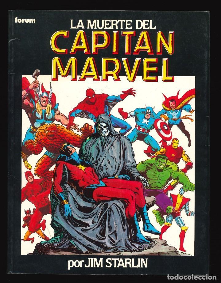 NOVELAS GRÁFICAS MARVEL - FORUM / NÚMERO 7 (LA MUERTE DEL CAPITÁN MARVEL) (Tebeos y Comics - Forum - Prestiges y Tomos)