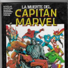 Cómics: FORUM-- LA MUERTE DEL CAPITÁN MARVEL -- TAPA DURA. Lote 251972475