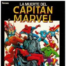 Comics : NOVELAS GRÁFICAS FORUM 7. LA MUERTE DEL CAPITAN MARVEL. EXCELENTE.. Lote 251973325