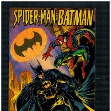 Comics : SPIDERMAN AND BATMAN -MENTES DESORDENADAS- FORUM. EXCELENTE.. Lote 252211105