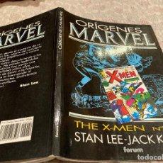 Cómics: ORIGENES MARVEL VOL 2 - THE X-MEN Nº 1 A 5 - STAN LEE, JACK KIRBY - COMICS FORUM. Lote 252270315
