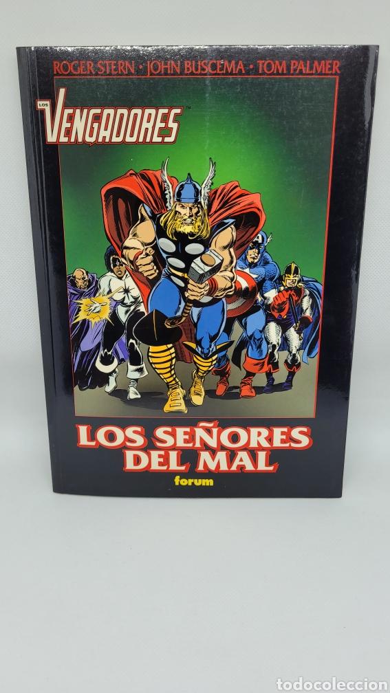 TOMO LOS VENGADORES LOS SEÑORES DEL MAL. OBRAS MAESTRAS 36. EXCELENTE ESTADO. NUEVO. FORUM. (Tebeos y Comics - Forum - Vengadores)