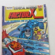 Cómics: FACTOR X ESPECIAL INVIERNO 1988 LA GUERRA DE LA EVOLUC FORUM MUCHOS EN VENTA, MIRA TUS FALTAS ARX81. Lote 252323675