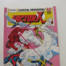 Cómics: FACTOR X VOL. 1 ESPECIAL PRIMAVERA 1989 FORUM MUCHOS EN VENTA, MIRA TUS FALTAS ARX81. Lote 252323875