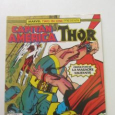 Comics: CAPITAN AMERICA - THOR. Nº 56 VOL 1 CONSERVA POSTER FORUM MUCHOS EN VENTA MIRA FALTAS ARX82. Lote 252327920