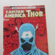 Comics: CAPITAN AMERICA - THOR. Nº 71 VOL 1 CONSERVA POSTER FORUM MUCHOS EN VENTA MIRA FALTAS ARX82. Lote 252328485