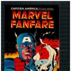 Comics : MARVEL FANFARE 1. CAPITÁN AMÉRICA / FRANK MILLER. FORUM. MUY BUENO.. Lote 252353655