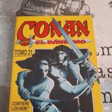 Cómics: CONAN EL BÁRBARO, RETAPADO 21, DEL 198 AL 205. Lote 289903038
