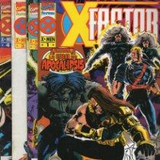 Cómics: X-FACTOR VOL. 1 LA ERA DE APOCALIPSIS COMPLETA 4 NUMEROS - FORUM. Lote 252451400