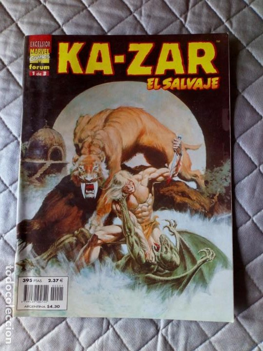 KAZAR EL SALVAJE Nº 1 (1 DE 3) FORUM (Tebeos y Comics - Forum - Otros Forum)