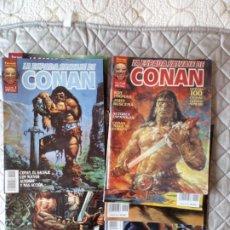 Cómics: CONAN LA ESPADA SALVAJE DE CONAN VOL II COMPLETA (10 NÚMEROS) FORUM. Lote 252530025