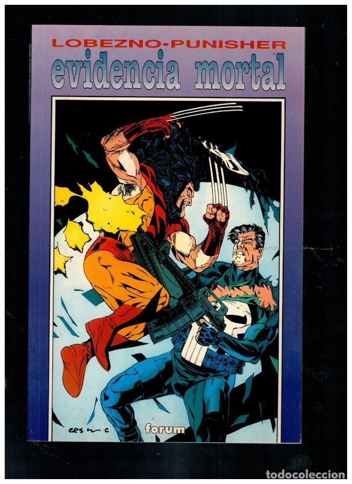 LOBEZNO·PUNISHER -EVIDENCIA MORTAL- FORUM. NUEVO. (Tebeos y Comics - Forum - Prestiges y Tomos)