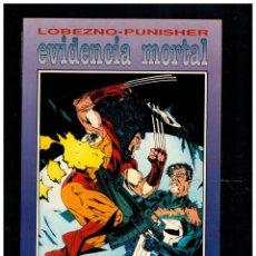Comics : LOBEZNO·PUNISHER -EVIDENCIA MORTAL- FORUM. NUEVO.. Lote 252546215