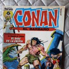 Cómics: CONAN EL BÁRBARO VOL 1 Nº 1 CON EL POSTER FORUM. Lote 252799375