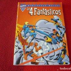 Cómics: LOS 4 FANTASTICOS Nº 2 BIBLIOTECA MARVEL ( STAN LEE KIRBY ) ¡MUY BUEN ESTADO! FORUM. Lote 252896925