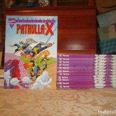 Cómics: PATRULLA X COLECCION COMPLETA 12 TOMOS BIBLIOTECA MARVEL EXCELSION MUY BUENO. Lote 252969460